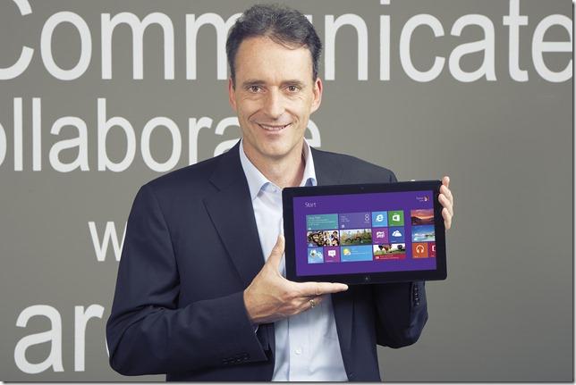 Microsoft Windows 8, Oliver Gürtler